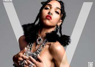 fka twigs poses topless - India TV