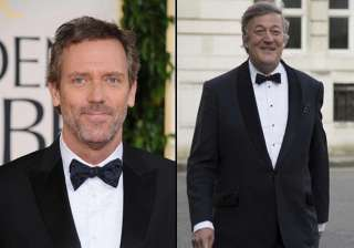 hugh laurie wishes stephen fry love and happiness...