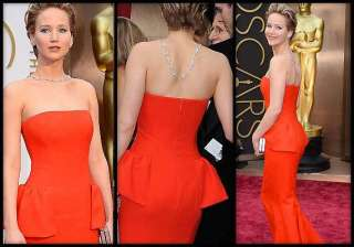 lawrence wore 2 mn necklace at oscars - India TV