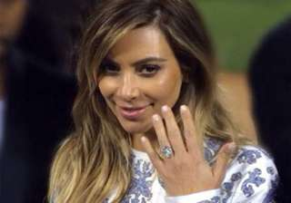 kim never takes off her engagement ring - India TV