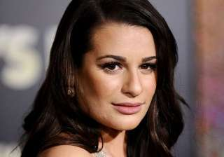 lea michele s tasted wine as toddler - India TV