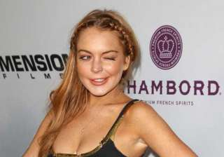 lindsay lohan thanks fans for support - India TV