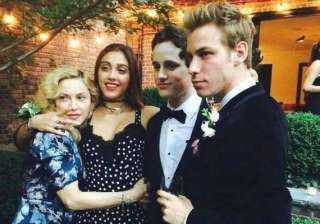 madonna throws pre prom party for daughter -...
