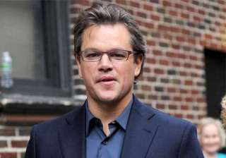 matt damon will head home to avoid paparazzi -...