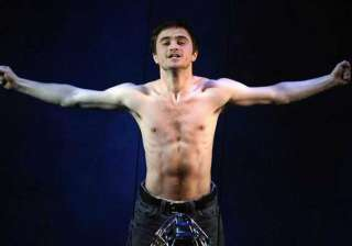 radcliffe comfortable being nude on screen -...
