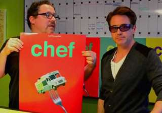 robert downey jr. designed chef posters - India TV