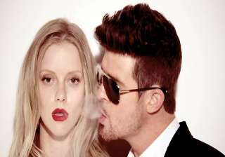 robin thicke is in the mood to experiment - India...