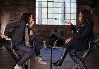 russell brand opens up on winfrey s show about...