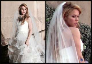 shakira spotted in wedding dress is marriage on...