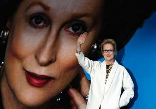 streep becomes iron lady in london - India TV