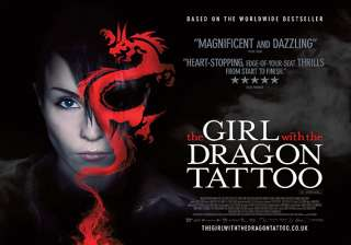 the girl with the dragon tattoo will not be shown...