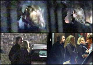 tim burton spotted kissing mystery woman view...