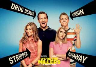 we re the millers movie review above average...