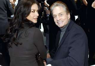 zeta jones douglas to re unite for thanksgiving...