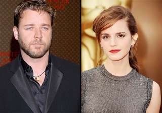 emma wastson russell crowe toook dance lessons...