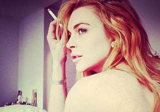 when lindsay lohan ran naked in store - India TV
