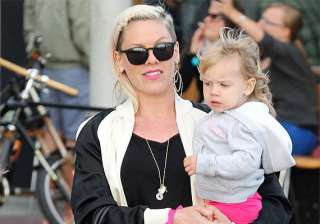 pink s daughter doesn t want sibling - India TV