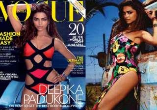 deepika does a hot photoshoot for vogue - India TV