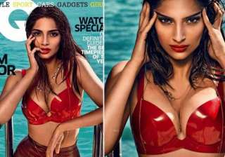 sonam kapoor sizzles on the cover of gq magazine...