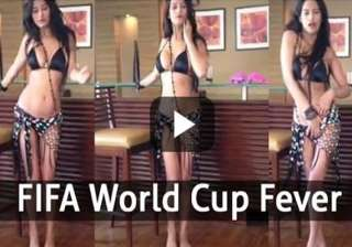 poonam pandey celebrates fifa world cup 2014 with...