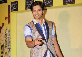 lakme fashion week 2014 ali fazal to walk for...