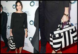 courtney cox s love for striped tote bag - India...