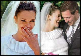 drew barrymore doles out wedding makeup tips view...
