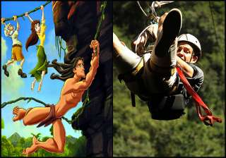 try out tarzan like adventure at karkloof canopy...
