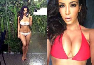 kim kardashian hot earth day selfie - India TV