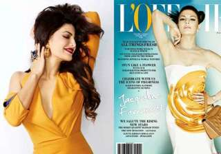 jacqueline fernandez glams up l officiel january...