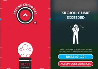 new calorie counting app insults you into losing...