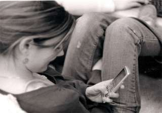 youngsters tempted to text even during sex -...