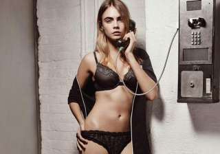 cara delevingne s lingerie photoshoot for dkny -...