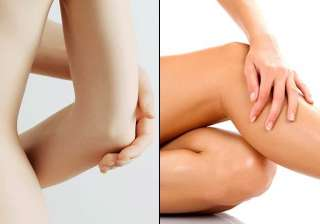 tips to get rid of dark knees and elbows - India...