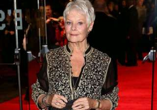 judi dench wears indian creation again see pics -...