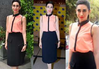 karisma kapoor gives breath taking appearance...