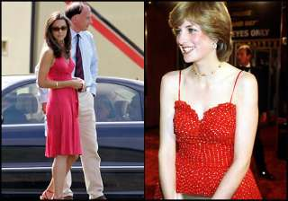 stunning kate middleton copies late mother in law...