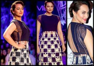 lakme fashion week 2014 sonakshi sinha turns...