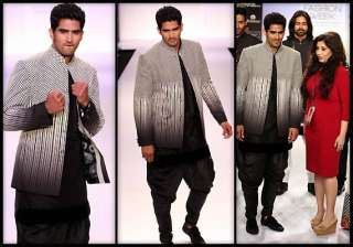 lakme fashion week 2014 vijender singh believes...