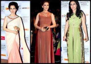 lakme fashion week 2014 kajol kangana sonali...