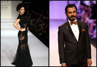 nawazuddin siddiqui ankita shorey walk the ramp...