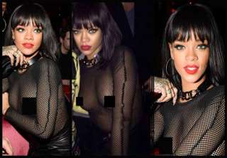 rihanna s dress that made heads turn see pics -...