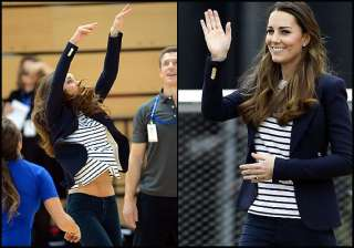 royal tummy is back in shape kate middleton shows...