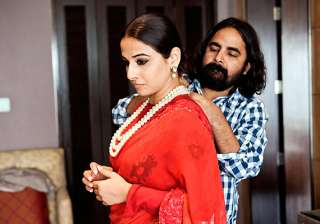 vidya balan gives me full freedom in styling her...