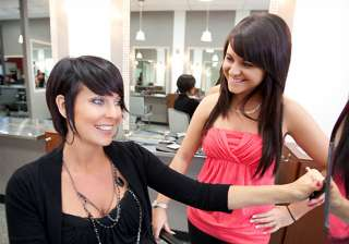 women prefer new haircut over skincare view pics...