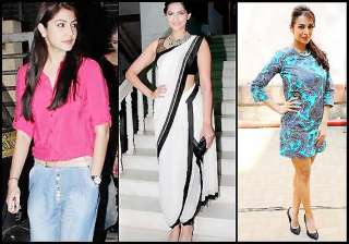 this week s fashion report sonam anushka maliaka...