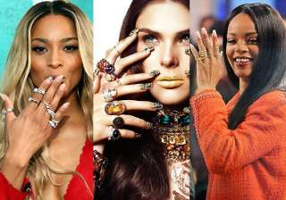 celebs smitten by sparkling midi rings - India TV