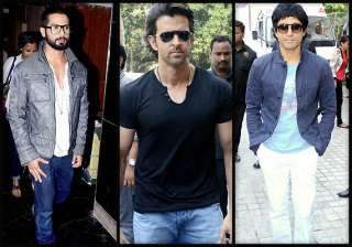 hrithik farhan shahid spread their charm at iifa...