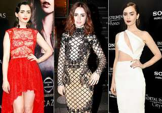 lily collins love of fashion comes from her...