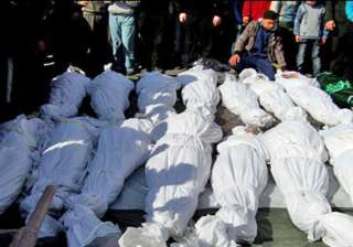 at least 105 killed in syria as deadline looms -...